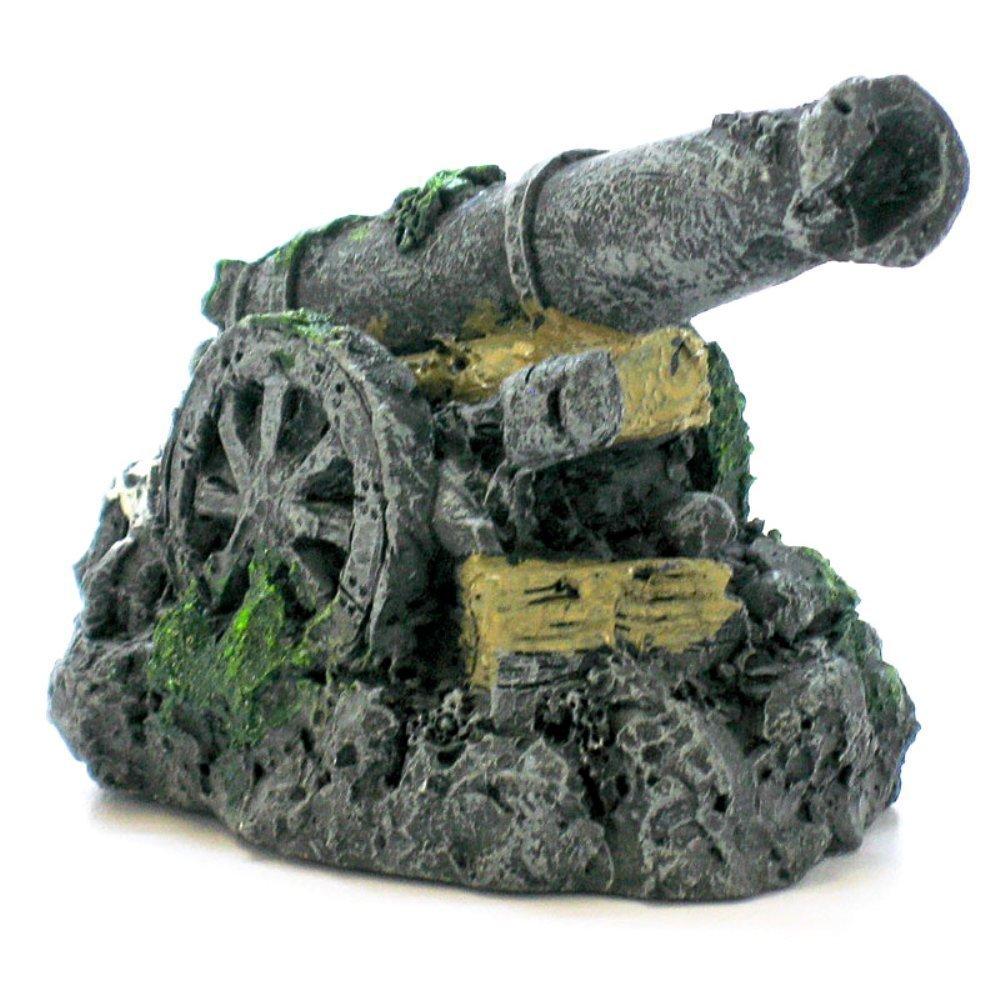 Pen-Plax RR553 Mini Cannon Aquarium Figure