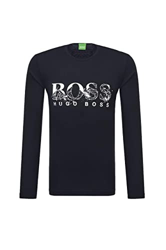 77272f98 Amazon.com: BOSS Green Men's Togn 4 Long Sleeve T-Shirt with Special Bhb  Artwork: Clothing
