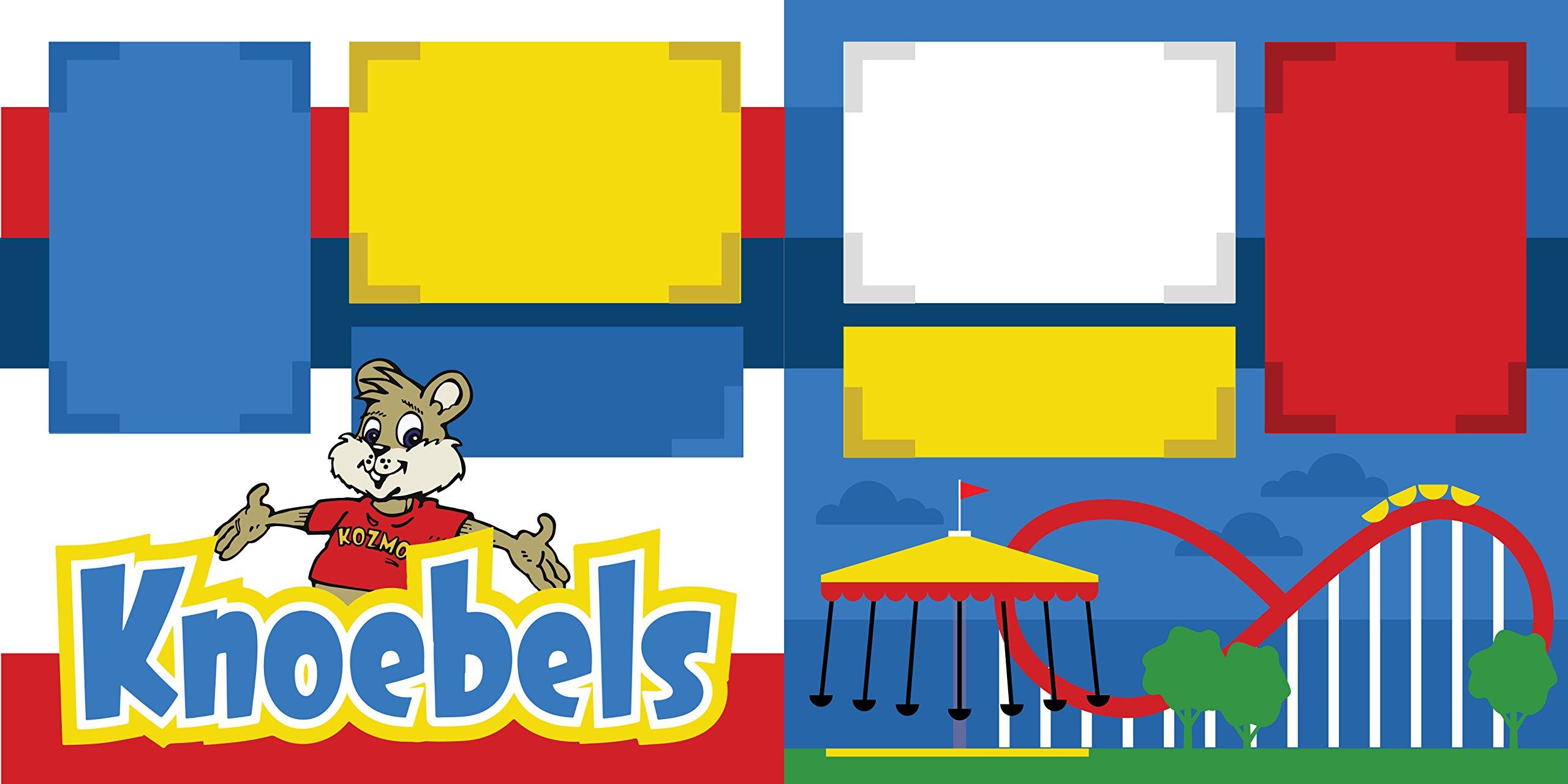 ''Knoebels'' ASSEMBLED Scrapbook Page