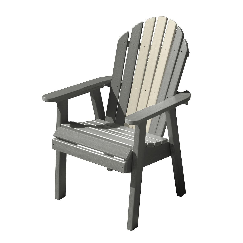 Amazon com highwood hamilton deck chair glacier garden outdoor