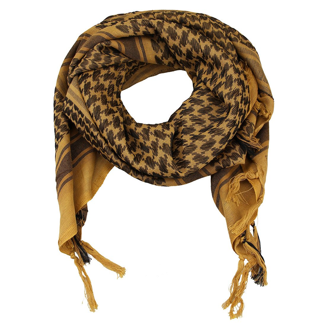100% Cotton Tactical Shemagh Military Desert Arab Keffiyeh Shawl Head Neck Scarf Wrap For Men Women