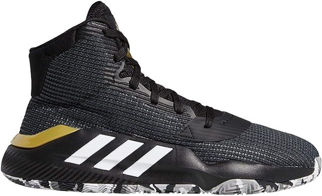 adidas Pro Bounce 2019, Chaussures de Basketball Mixte