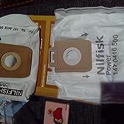 Nilfisk 128389187 Bolsas aspirador, Teflón, Blanco: Amazon.es: Hogar
