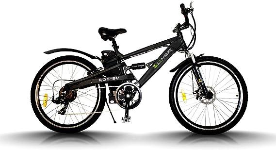 Egarbike Bicicleta eléctrica ROC SP Doble Suspension 36V 10ah MTB ...