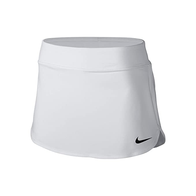 Amazon.com: Nike Womens Pure Skirt White/Black Skirt M ...