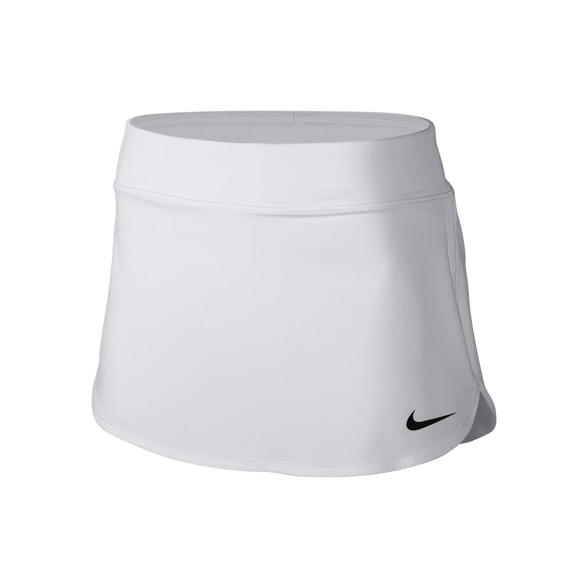 Nike Women's Pure Skirt, White/Black SM by Nike (Image #1)