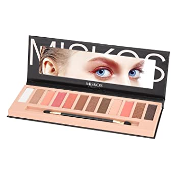 The Best Brand 12 Colors Shimmer Matte Eyeshadow Makeup Palette Long Lasting Eye Shadow Natural Nude Eyeshadow With Brush Kits Eye Shadow