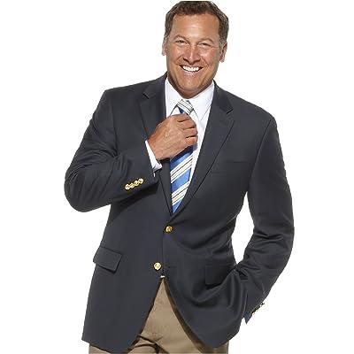 Ralph Lauren Classic Fit Solid Navy Blue Wool Blazer Sportcoat