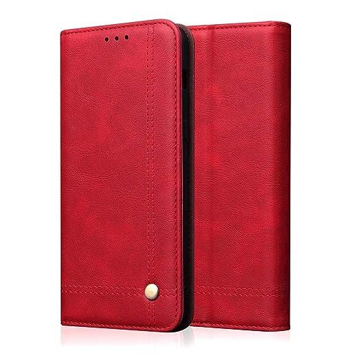 Fucaiqian Cubierta for Compatible con Huawei Honor 20 Wallet ...
