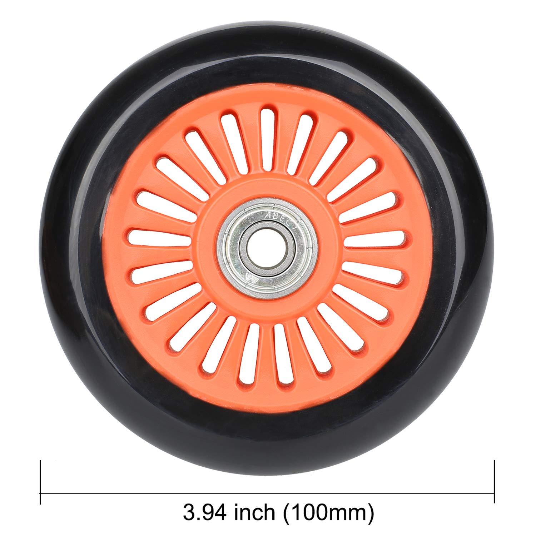 Amazon.com: 2 ruedas de repuesto para scooter profesional de ...