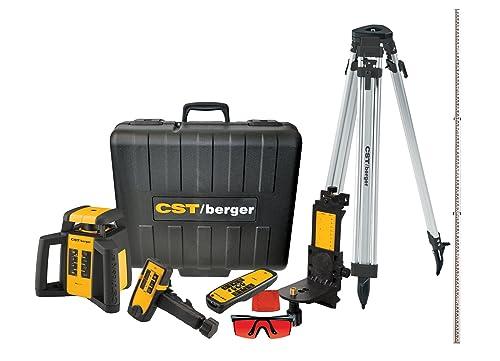 Best Valued Interior/Exterior Rotary Laser Kit CST/berger RL25HVCK