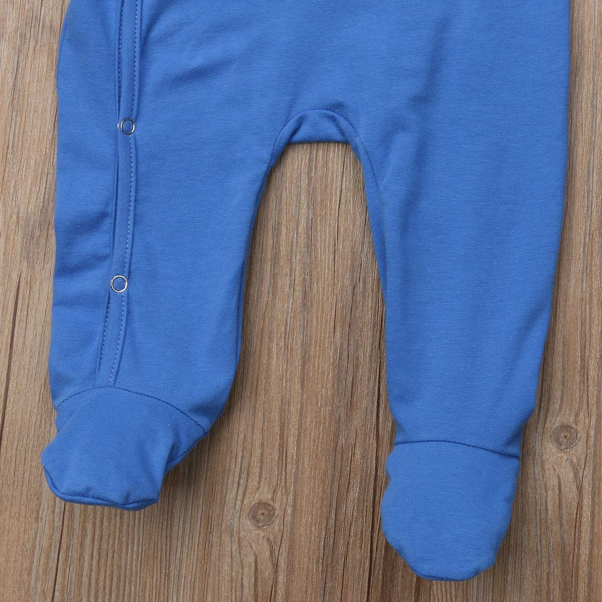 Baby Boys Girls Pajamas Sleeper Footie PJs Infant Baby Footed Jumpsuit Coveralls