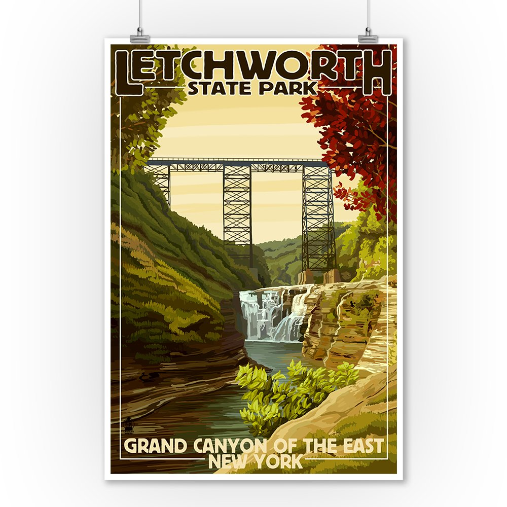 Amazon.com: Letchworth State Park, New York - Grand Canyon of the ...