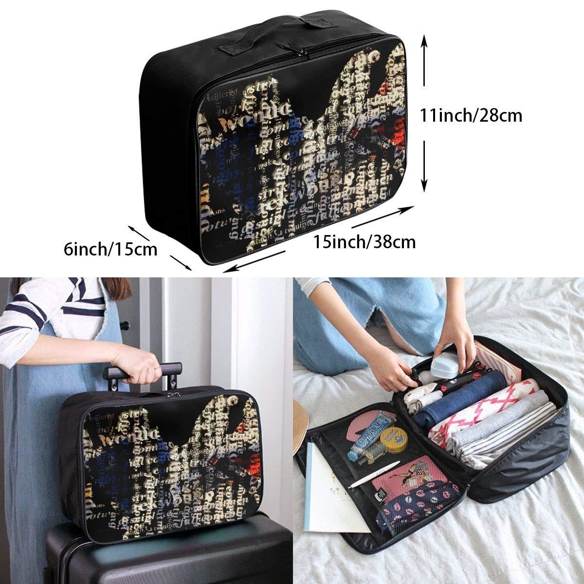 Travel Luggage Duffle Bag Lightweight Portable Handbag Taekwondo Large Capacity Waterproof Foldable Storage Tote