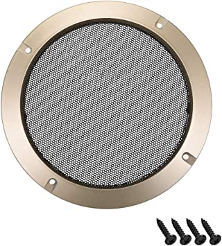 """8/""""//10/""""//12/"""" inch Speaker Cover Decorative Circle Subwoofer Full Metal Mesh Grille"""
