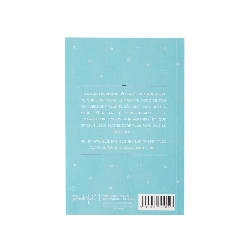 Amazon.com: Mr. Wonderful woa03485 libro de deseos más ...