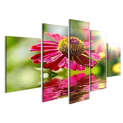 Quadro moderno Flower design. Con copia-spazio Stampa su ...