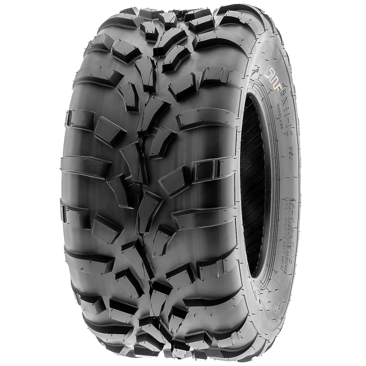 Pair of 2 SunF 25x11-12 AT-XC ATV/UTV Off-Road Tires , 6PR , Directional Knobby Tread | A010 by SunF (Image #8)