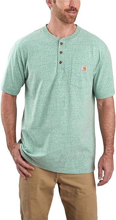 Carhartt Camisa de Hombre Workwear Pocket Henley: Amazon.es: Ropa y accesorios