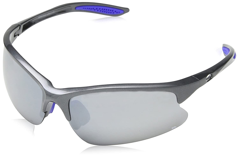 Trespass Mantivu, Dark Grey, Sunglasses Category 3 Lenses with UV Protection & Cleaning Cloth, Grey UUACEYJ10003_DAGEACH