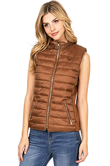 475e4f02644 George Palomares Women s Cold Weather Puff Vest at Amazon Women s ...