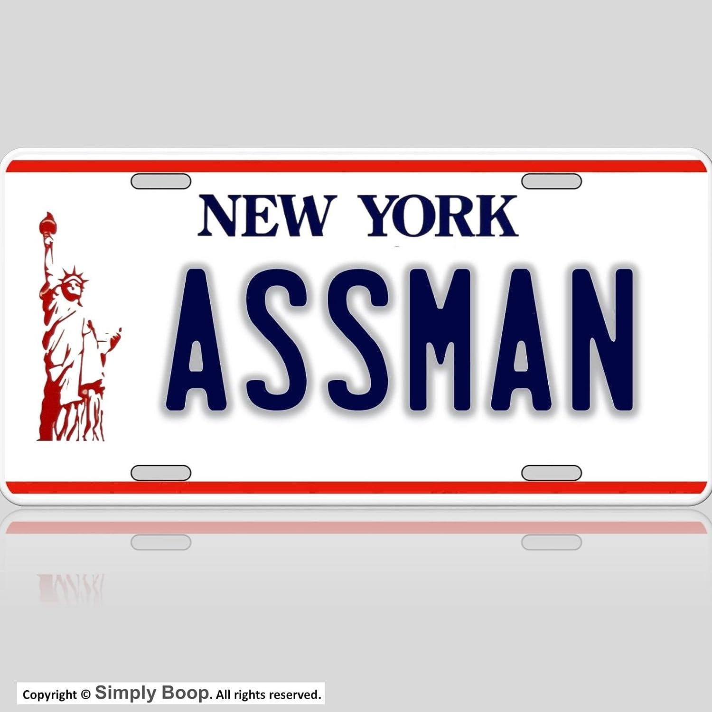 Forever Signs Of Scottsdale Seinfeld Cosmo Kramer Assman Replica License Plate Aluminum Premium Quality