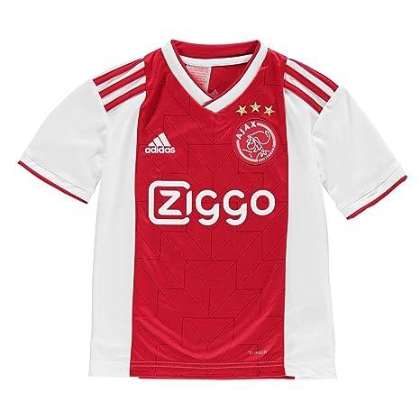 dc68fceca Amazon.com   adidas 2018-2019 Ajax Home Shirt (Kids)   Sports   Outdoors