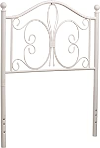 Hillsdale Furniture Hillsdale Ruby Without Bed Frame Twin Headboard, White