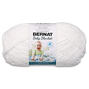 Bernat Baby Blanket Big Ball White