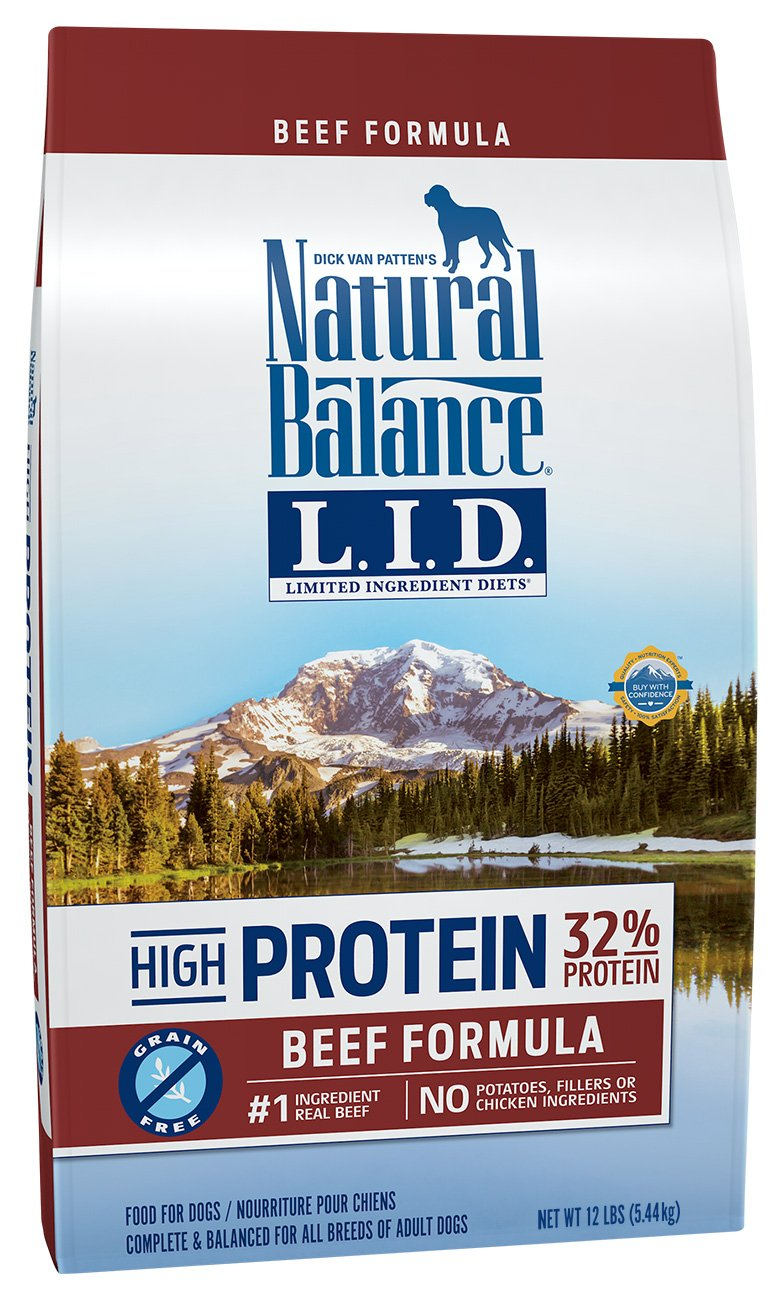 Natural Balance Limited Ingredient Diets High Protein Dry Dog Food Beef