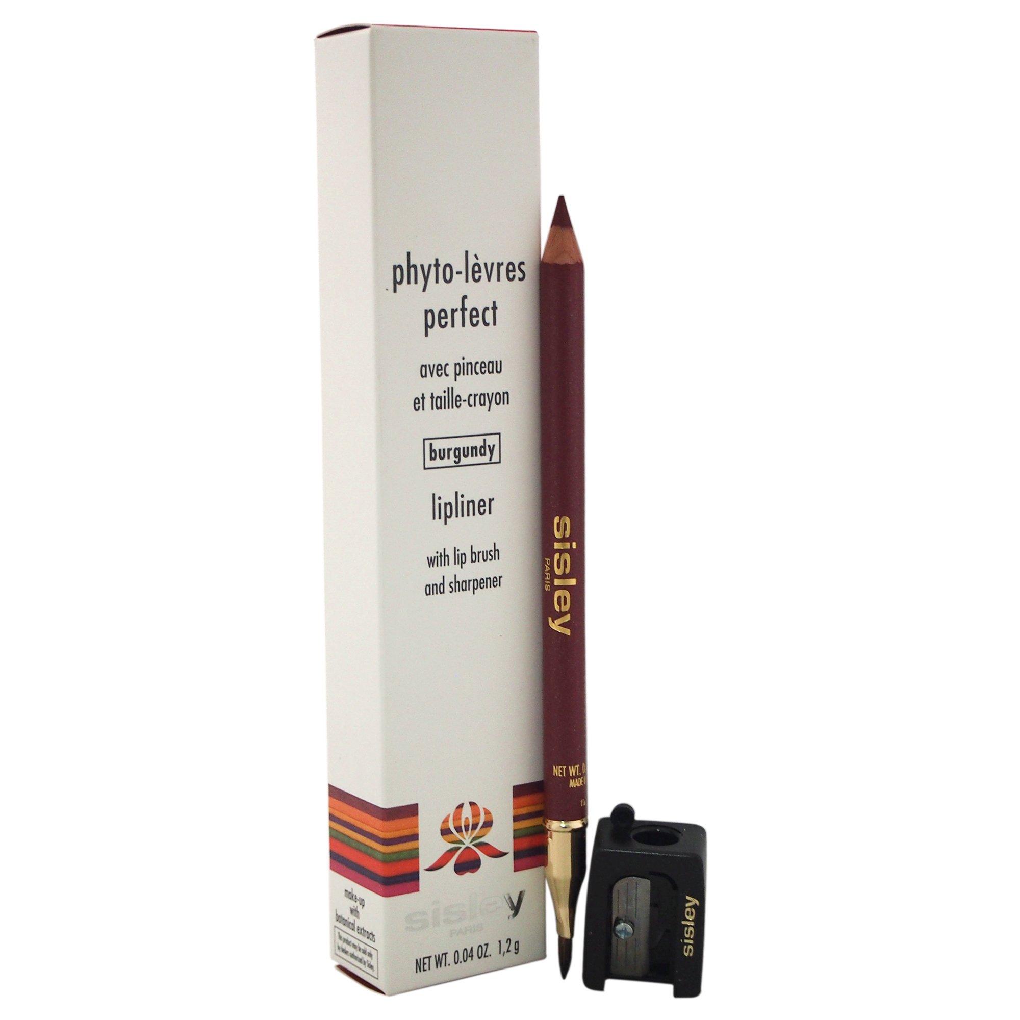 Phyto Levres Perfect Lip Liner With Lip Brush & Sharpener - Burgundy by Sisley for Women - 1.45 g Lipliner by Sisley