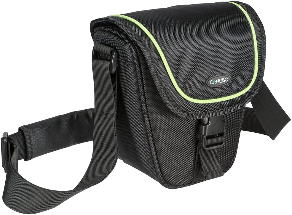 Canubo D 10 Fancy Line Colt Bag for Camera Black
