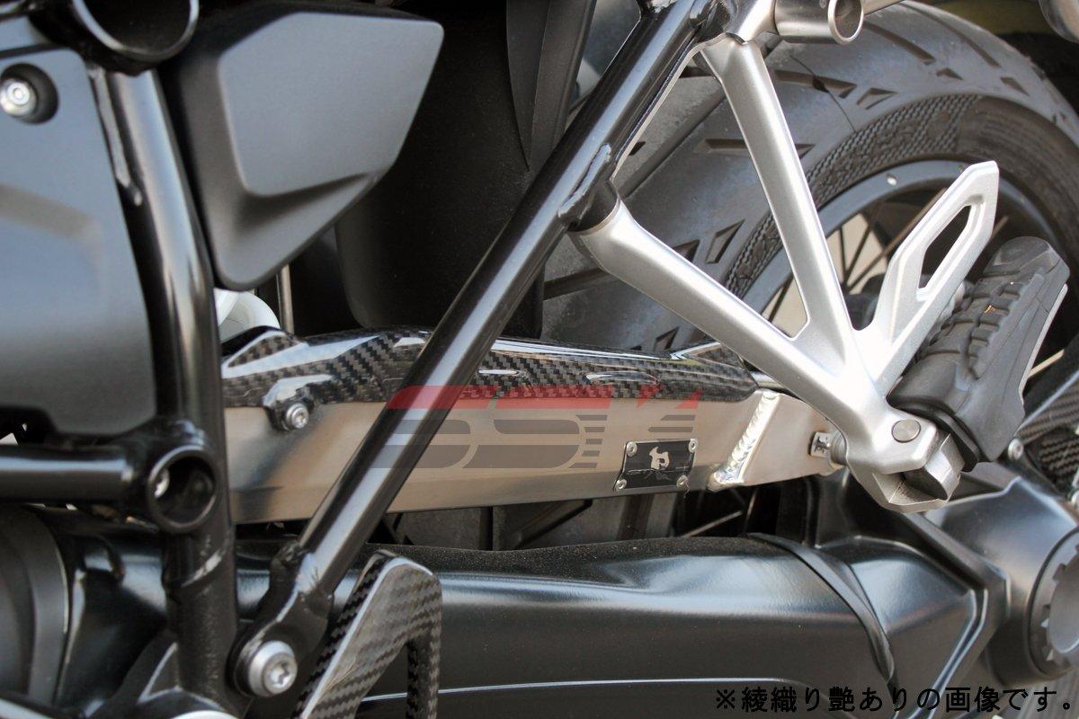 SSK ブレーキホースカバー ドライカーボン 綾織り艶あり BMW (R1200GS LC 2013-)(R1200GS ADVENTURE LC 2014-)(R1200R LC 2015-)(R1200RS LC 2015-)(R1200RT LC 2014-) CBM0709TG 綾織り艶あり  B0739WVWWP