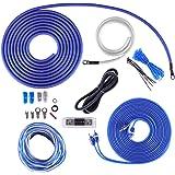 Skar Audio 4 Gauge OFC Complete Amplifier Installation Wiring Kit, SKAR4ANL-OFC