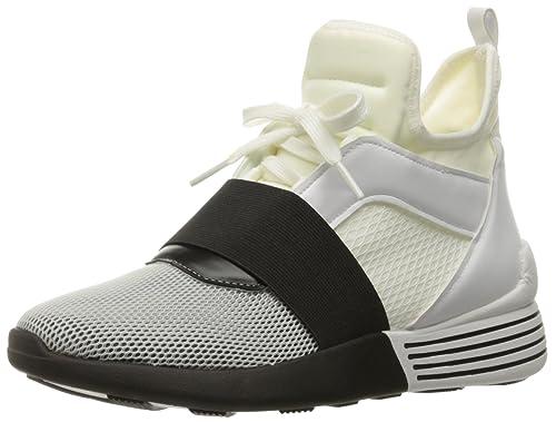 Kendall & Kylie Women's Braydin Sneaker, White/Black, ...