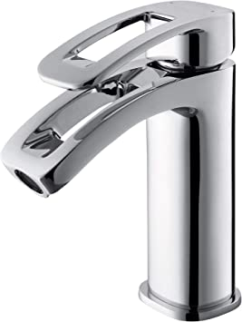 GRIFERIAS BORRÁS - SERIE LAX - Grifo lavabo Monomando LAX0481C , Cromo - Instalación Baño