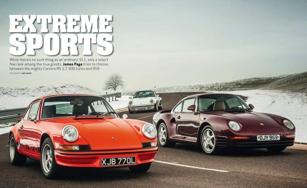 Amazon.com : PORSCHE GREATEST HITS CLASSIC & SPORTS CAR MAGAZINE UK IMPORT COLLECTORS EDITION : Everything Else