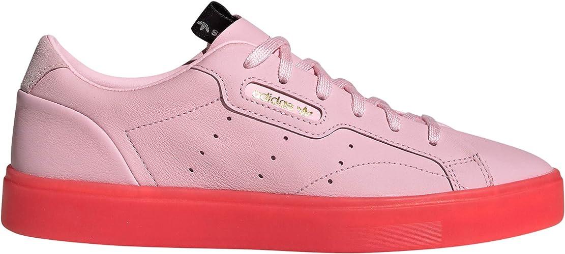 adidas Sleek Weiß und Pink. Schuhe Damen Sneakers: