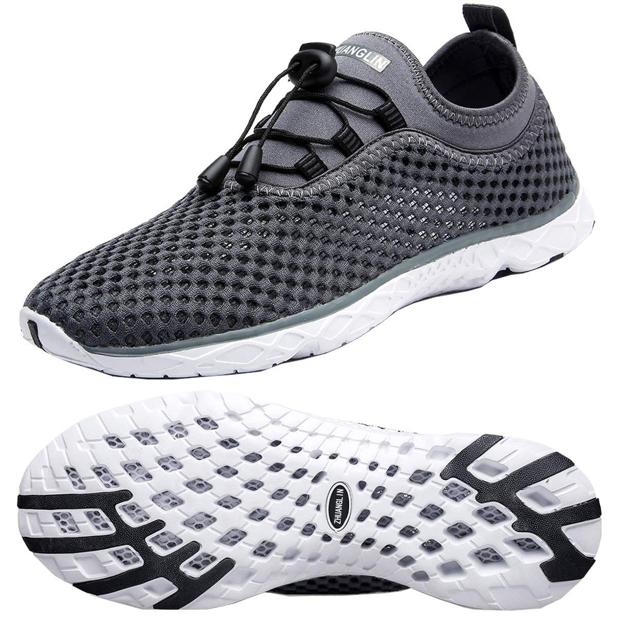 huge discount 45bcf 37872 Zhuanglin Men s Quick Drying Aqua Water Shoes