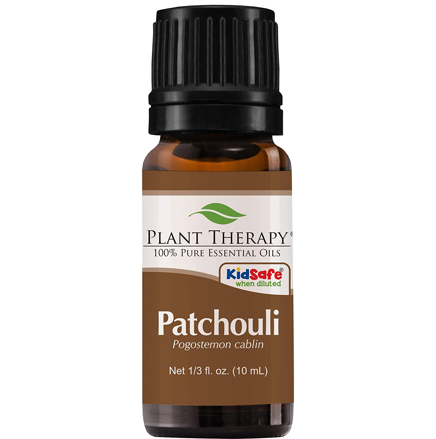 Plant Therapy Patchouli Essential Oil | 100% Pure, Undiluted, Natural Aromatherapy, Therapeutic Grade | 10 Milliliter (⅓ Ounce)