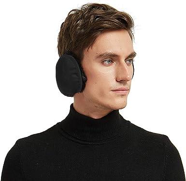 Behind-the-head Fleece Ear Muffs//Ear Warmers-Winter Outdoor Foldable Earmuffs for Men and Women by Aurya