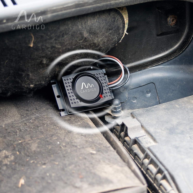 facile da installare in Auto per tutte le auto multimarche Gardigo libero auto Vario per martore martore per roditori frequenza variabile Marmore libero