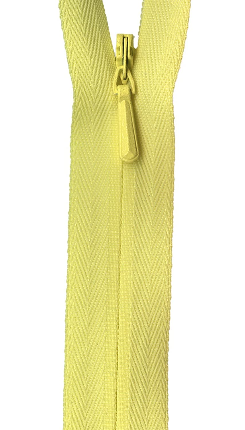 American /& Efird 309-501 Zippers Unique Invisible Zipper 9-Inch-White