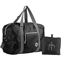 WANDF Foldable Travel Duffel Bag Luggage Sports Gym Water Resistant Nylon a4aa28c1b46f9