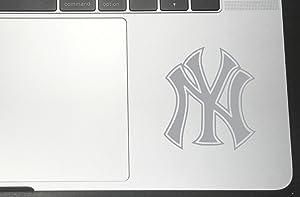 "New York Vinyl Sticker Decals for Car Bumper Window MacBook pro Laptop iPad iPhone (8"" x 7.12"", Silver)"