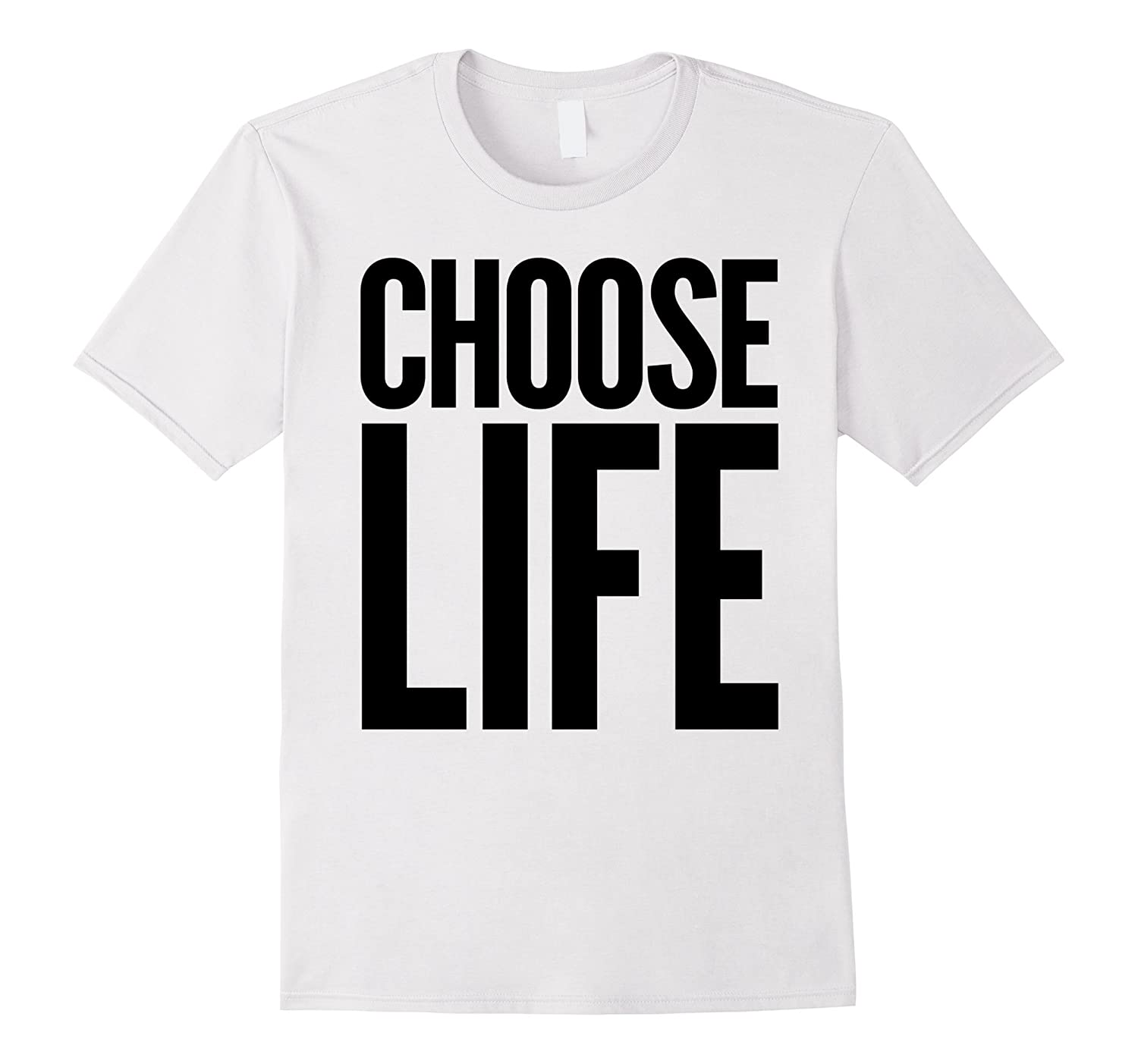 Choose Life Vintage Retro 80s Funny T-Shirt-TD