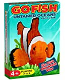 GO FISH Untamed Oceans, a 3-in-1 Classic Card Game for Kids ( GO FISH, OLD MAID, and WAR ) / Three Classic Kids Games in ONE Beautifully Illustrated Deck Featuring Ocean Animals