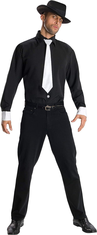 Disfraz de gángster para hombre, camisa y accesorios, Talla única adulto (Rubies 880570): Amazon.es: Juguetes y juegos
