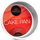 "Last Confection 7"" x 3"" Deep Round Aluminum Cake Pan - Professional Bakeware"