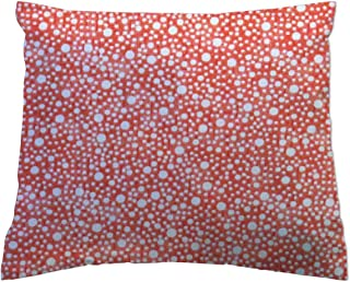 product image for SheetWorld Crib Toddler Pillow Case, 100% Cotton Woven, Confetti Dots Coral, 13 x 17, Made in USA